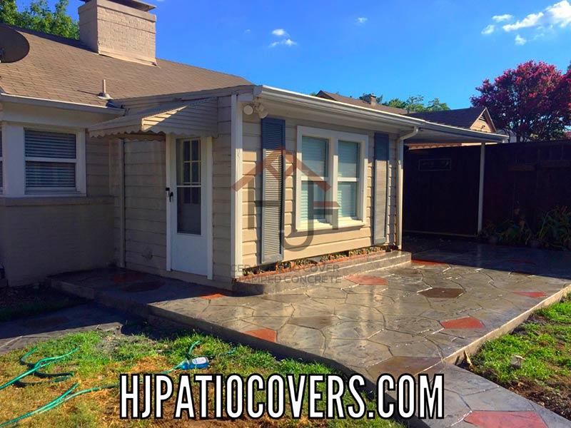 Stamped Concrete Dallas Texas Decorative Patios In Dallas